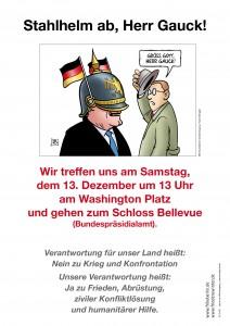Plakat Gauck A3